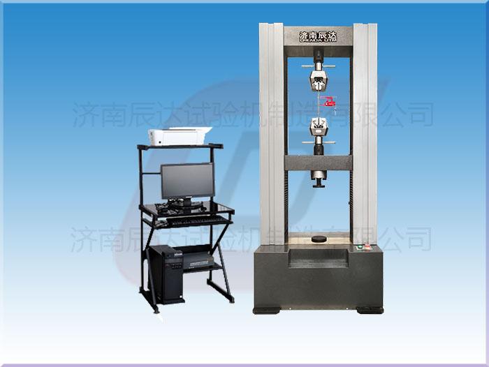 电子万能材料试验机的工作原理